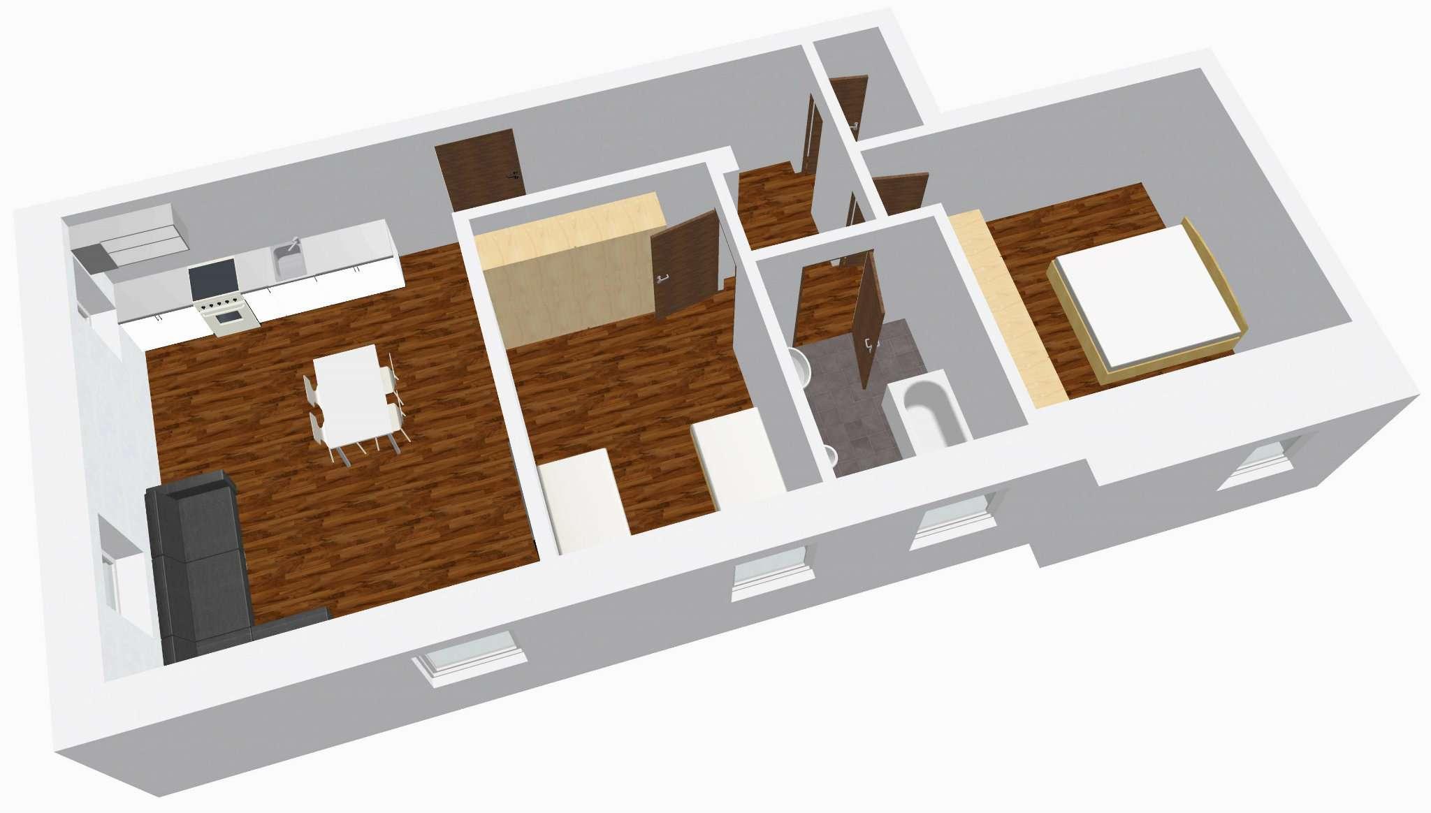 Appartamento da ristrutturare in vendita Rif. 5088610