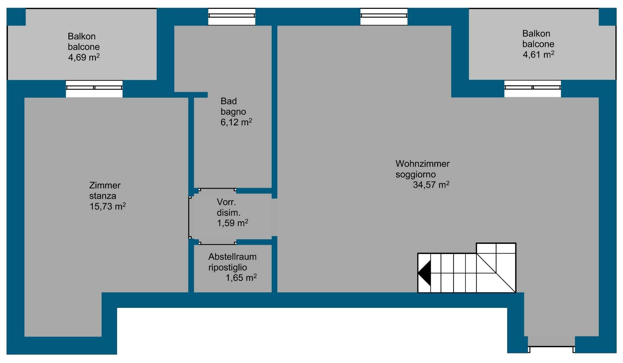 Appartamento in vendita Rif. 7933149