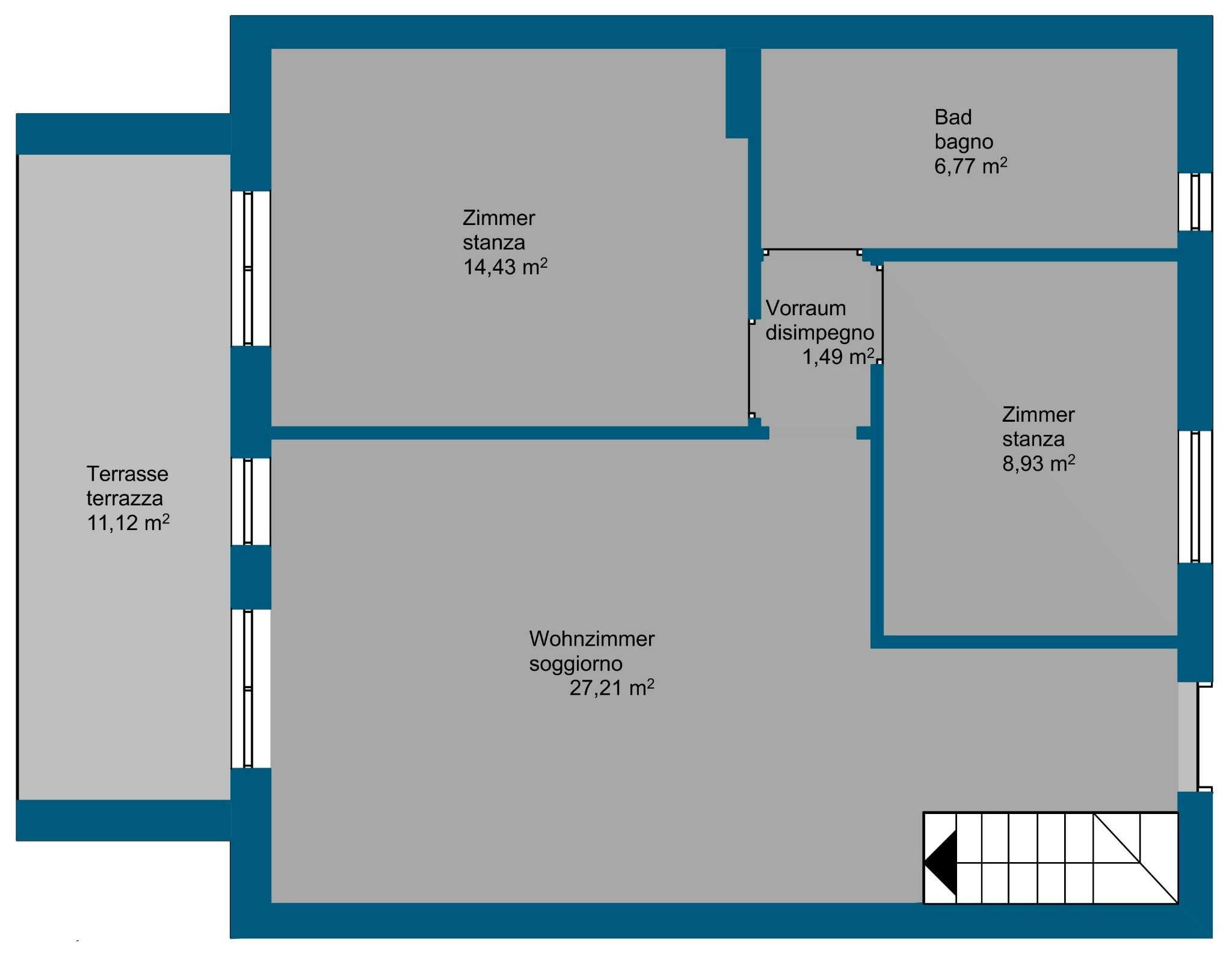 Appartamento in vendita Rif. 7933150
