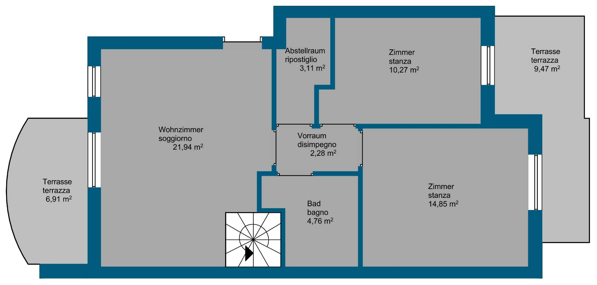 Appartamento in vendita Rif. 7933152