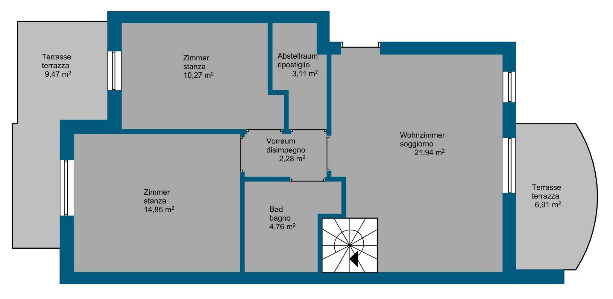 Appartamento in vendita Rif. 7933153