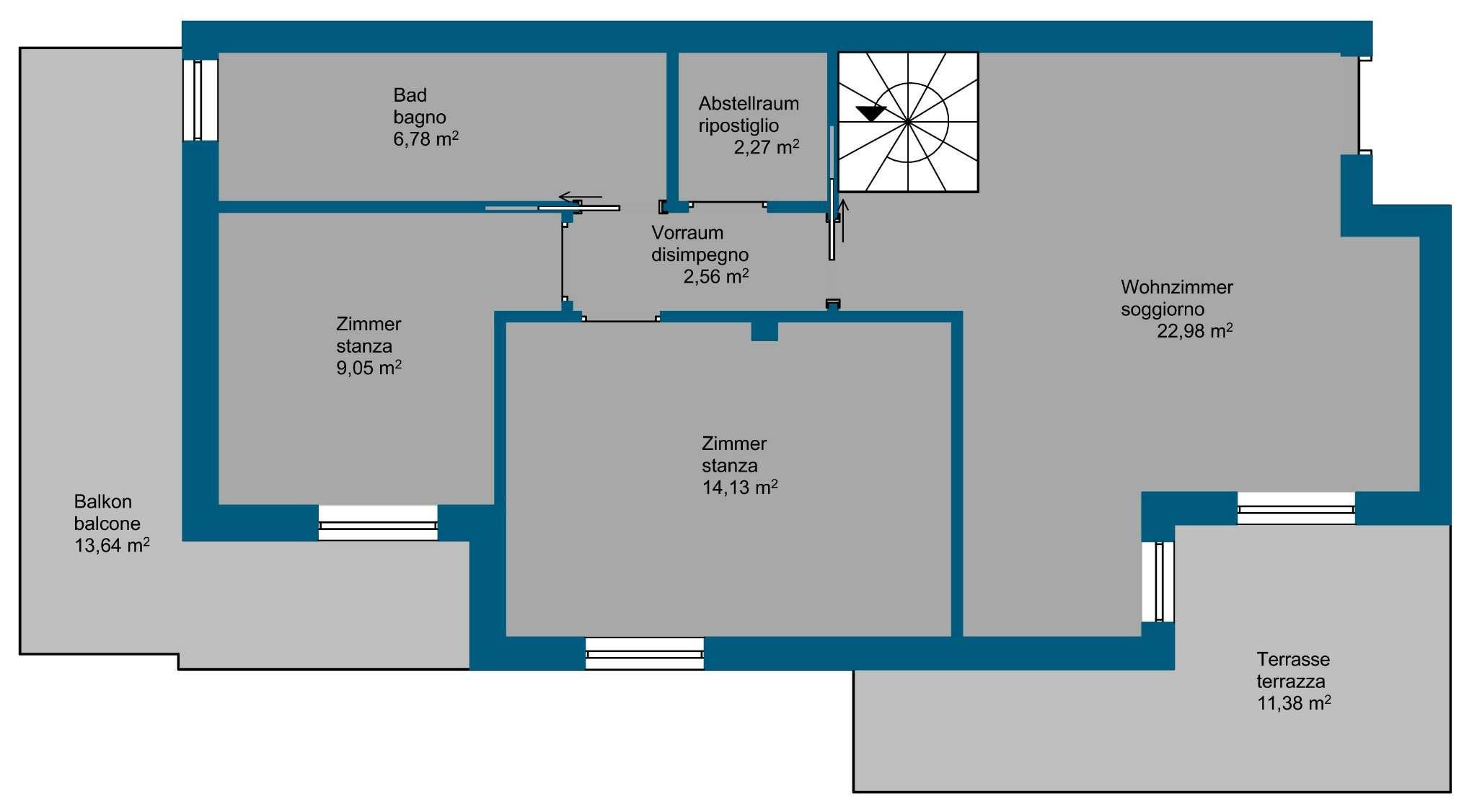 Appartamento in vendita Rif. 7933154