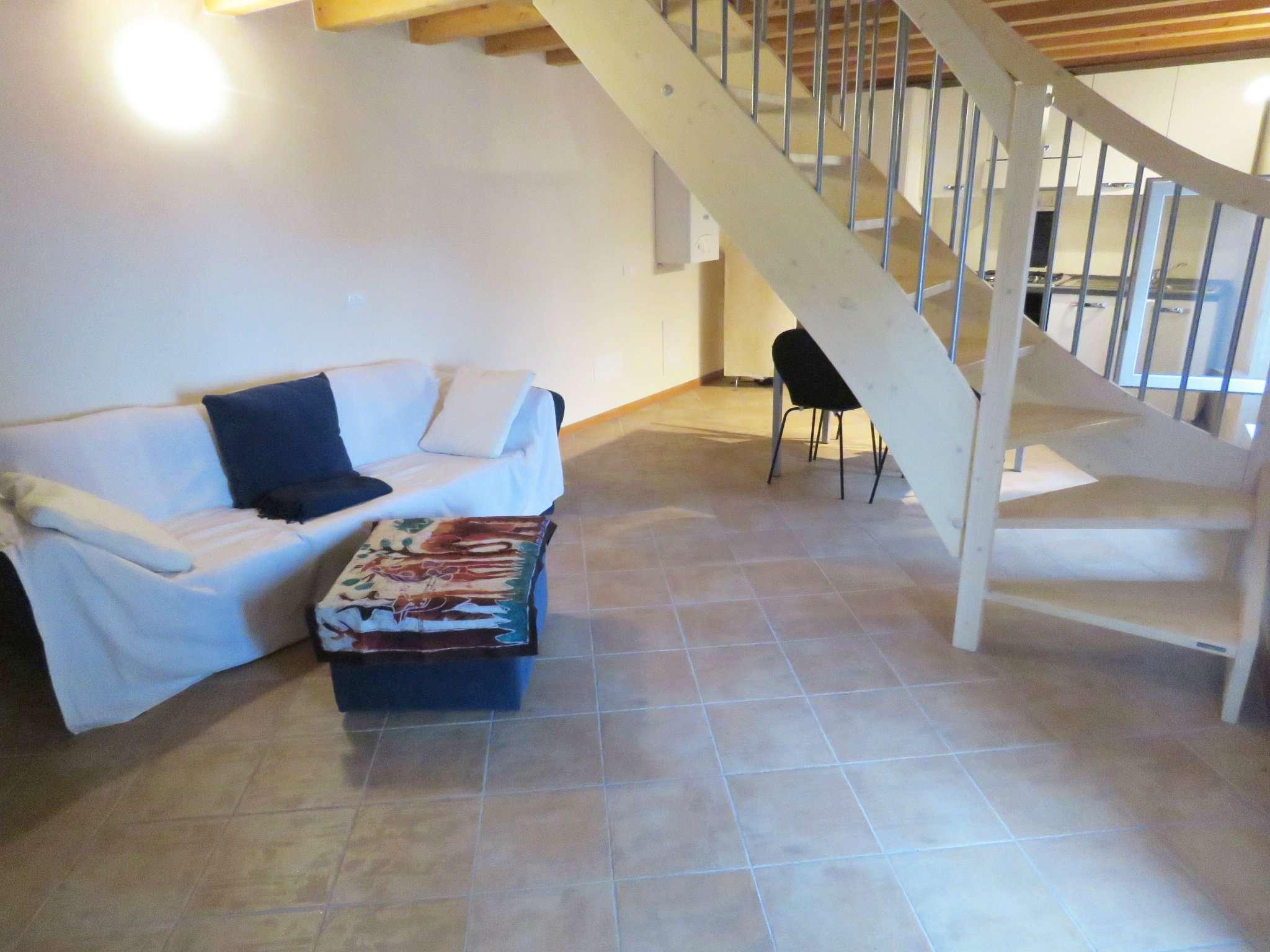 Attico ristrutturato su due piani nell'idilliaco San Zeno di Montagna