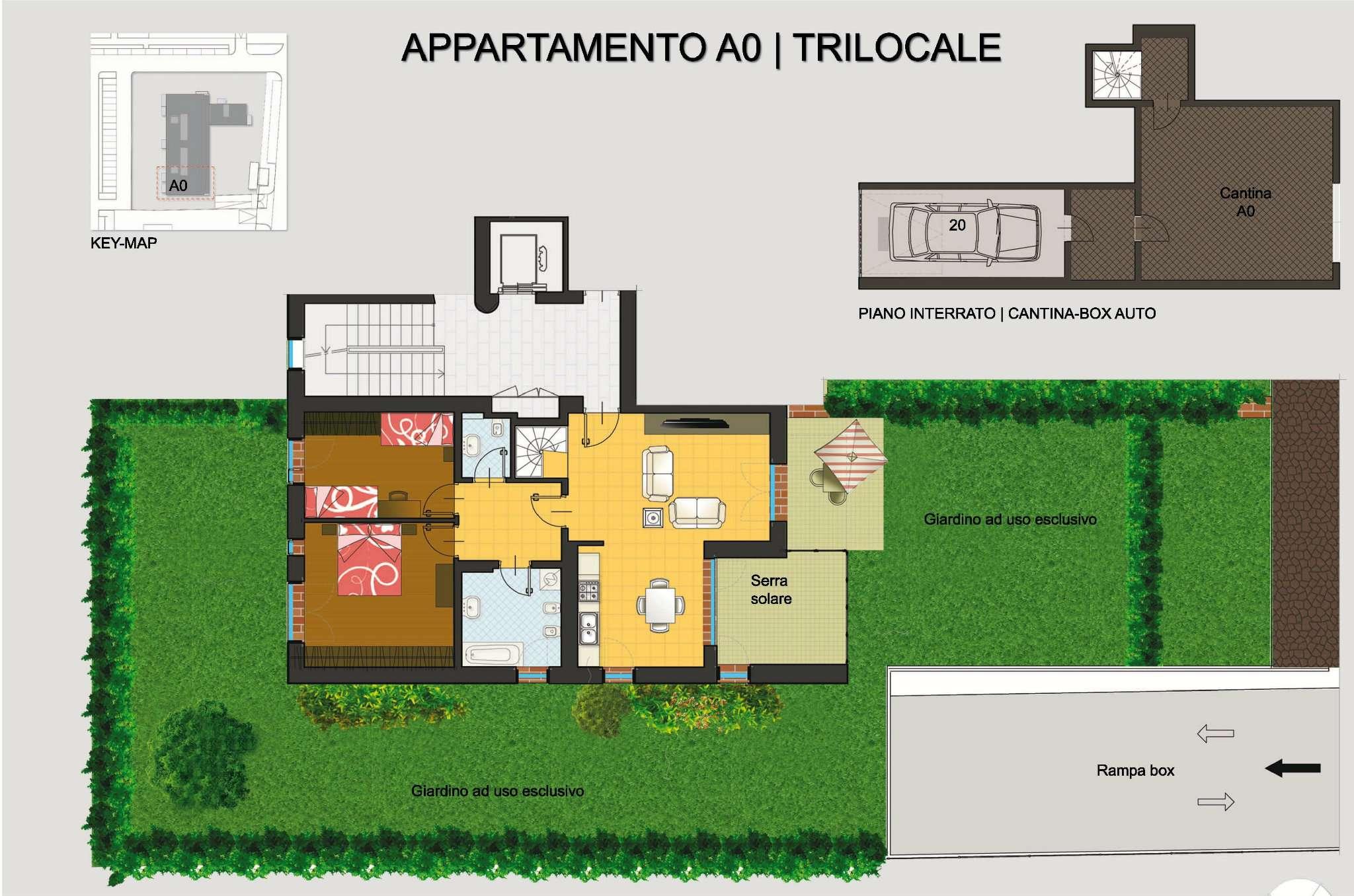 Appartamento in vendita a Pregnana Milanese, 3 locali, prezzo € 318.000 | CambioCasa.it