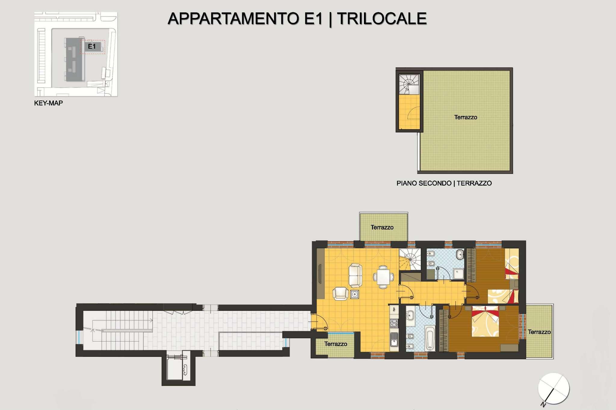 Appartamento in vendita a Pregnana Milanese, 3 locali, prezzo € 295.000 | CambioCasa.it