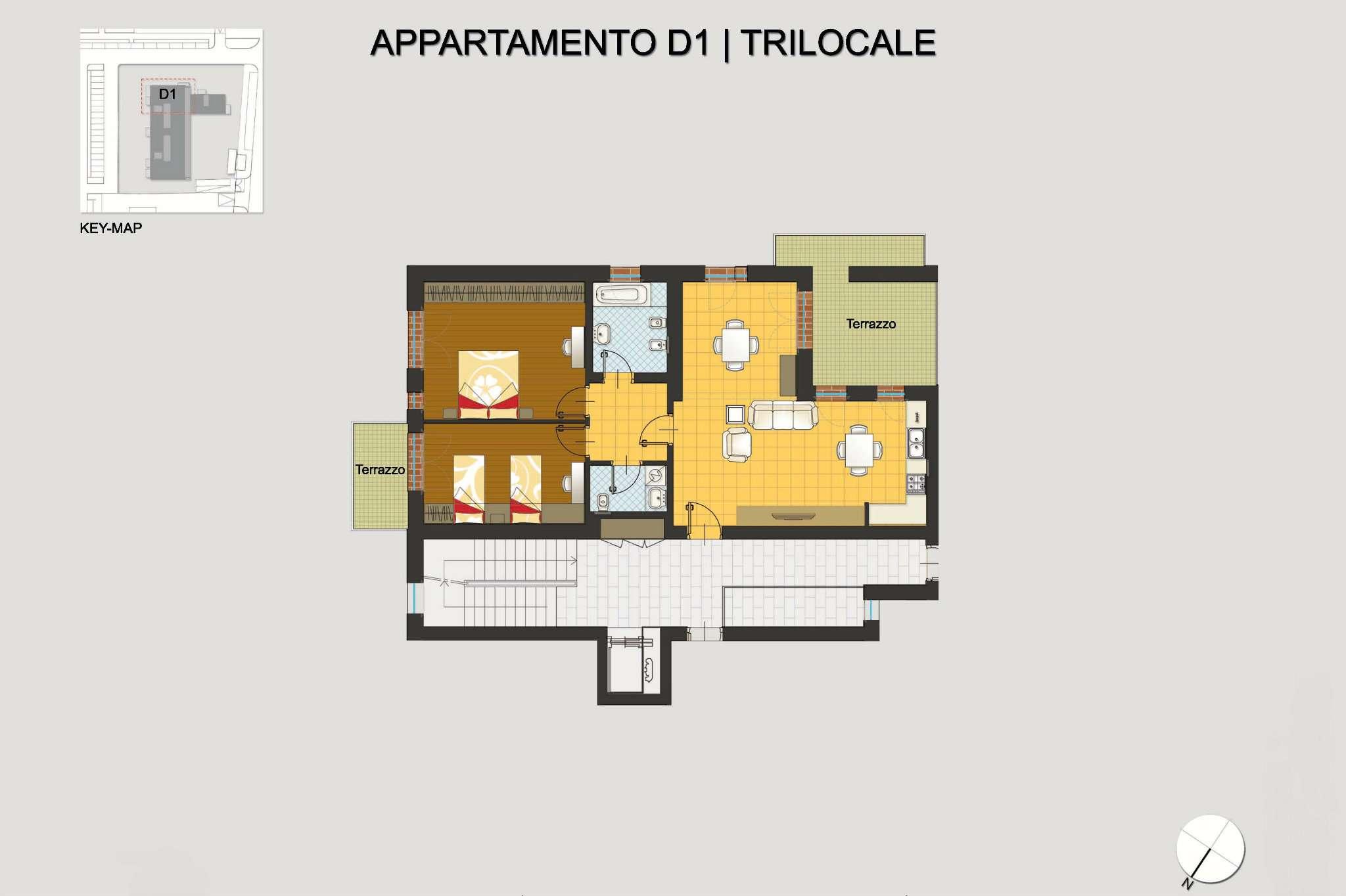 Appartamento in vendita a Pregnana Milanese, 3 locali, prezzo € 270.000 | CambioCasa.it