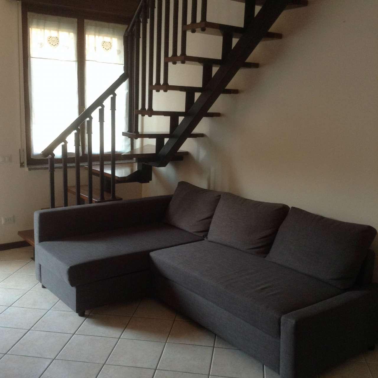 Appartamento in affitto a Cornate d'Adda, 2 locali, prezzo € 430 | CambioCasa.it