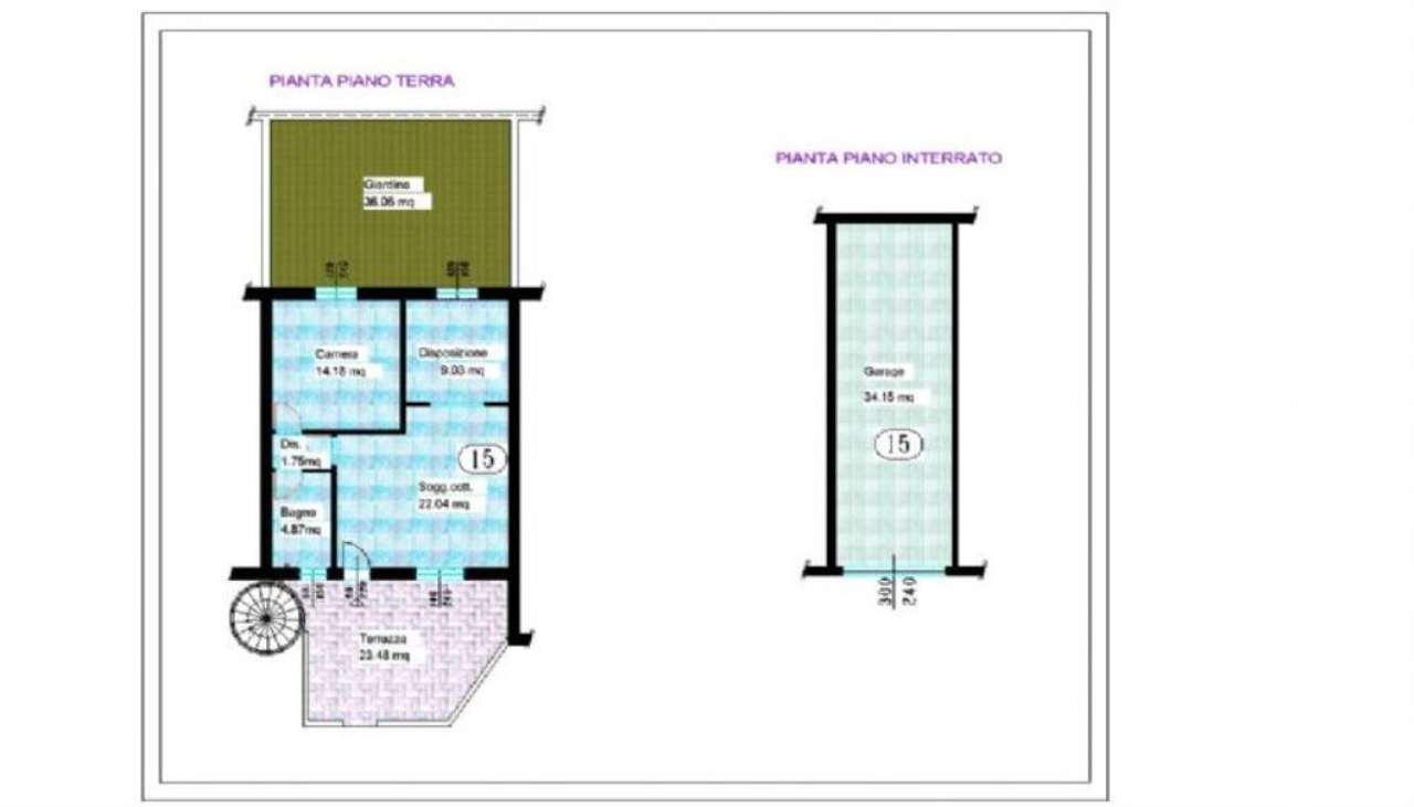 Appartamento in vendita a Capriano del Colle, 3 locali, prezzo € 110.000 | PortaleAgenzieImmobiliari.it