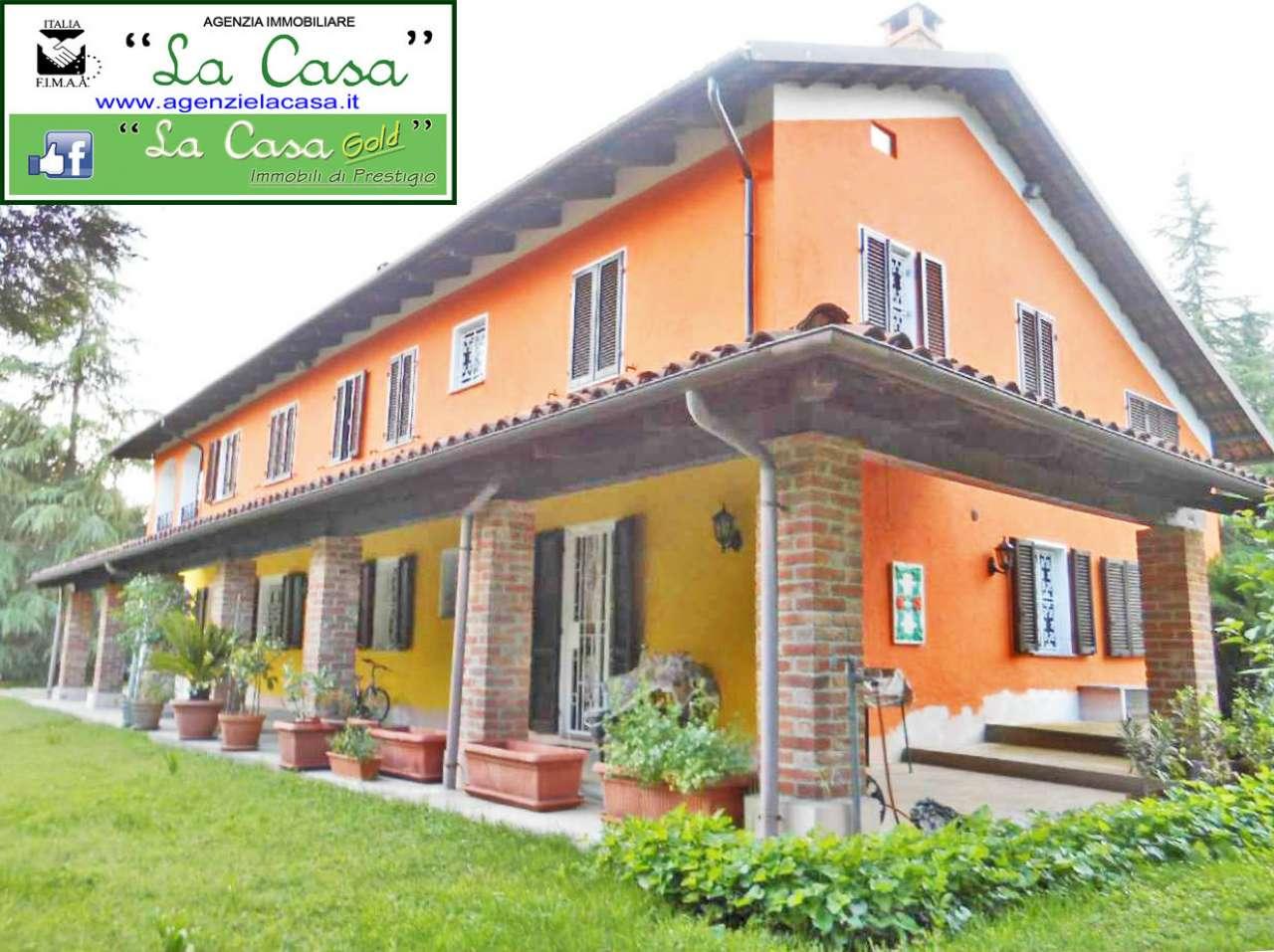 Rustico / Casale in vendita a Montafia, 18 locali, prezzo € 395.000 | CambioCasa.it