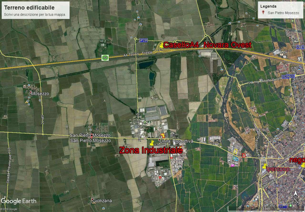 Terreno Edificabile Comm.le/Ind.le in vendita a San Pietro Mosezzo, 1 locali, prezzo € 290.000 | CambioCasa.it