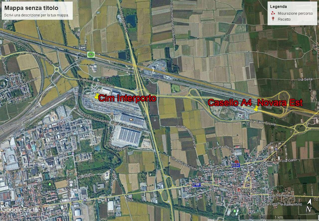 Terreno Edificabile Comm.le/Ind.le in vendita a Novara, 1 locali, prezzo € 390.000 | CambioCasa.it