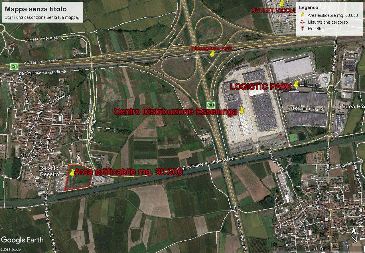 Terreno Edificabile Comm.le/Ind.le in vendita a Recetto, 1 locali, prezzo € 2.400.000 | CambioCasa.it