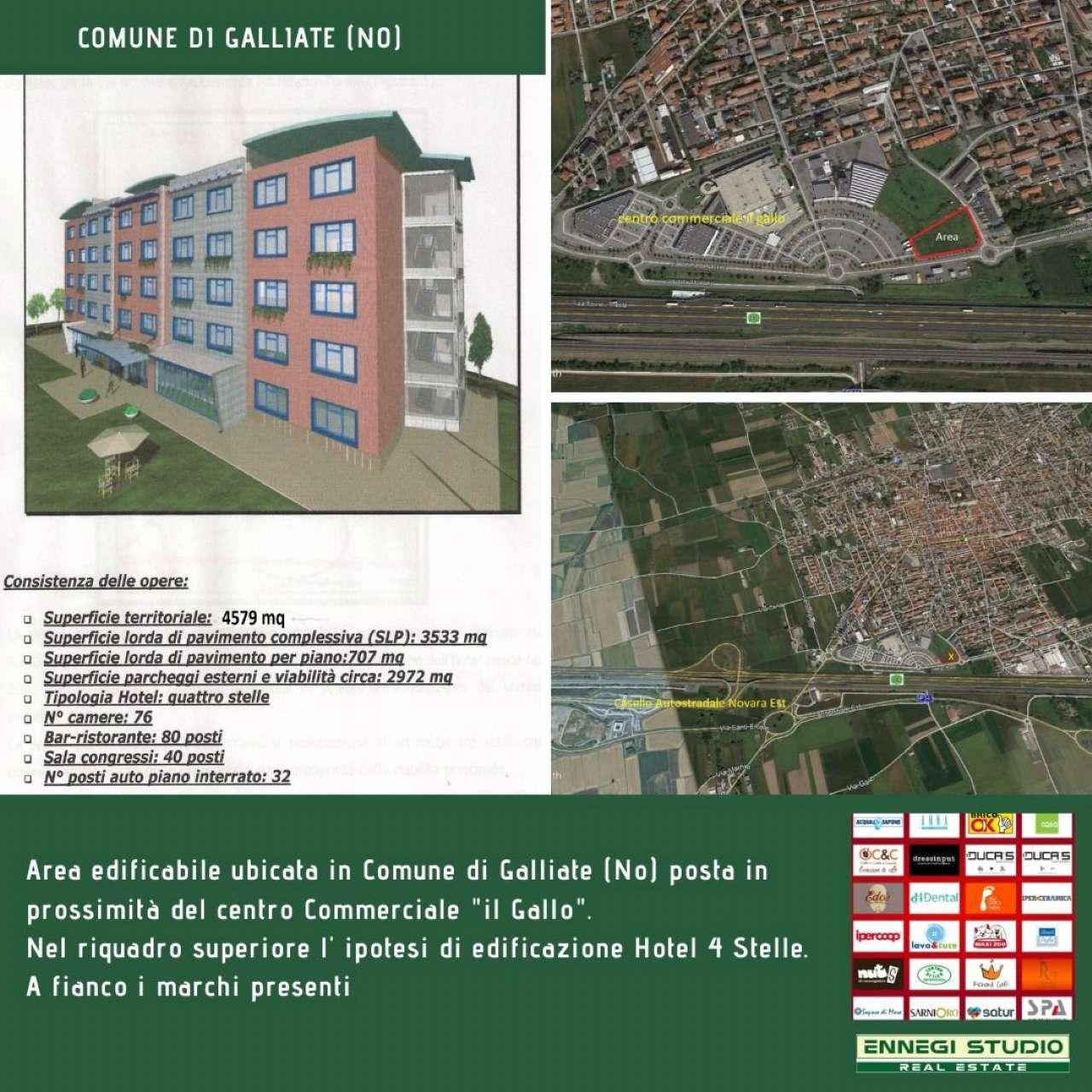 Terreno Edificabile Artigianale in vendita a Galliate, 1 locali, prezzo € 1.600.000 | CambioCasa.it