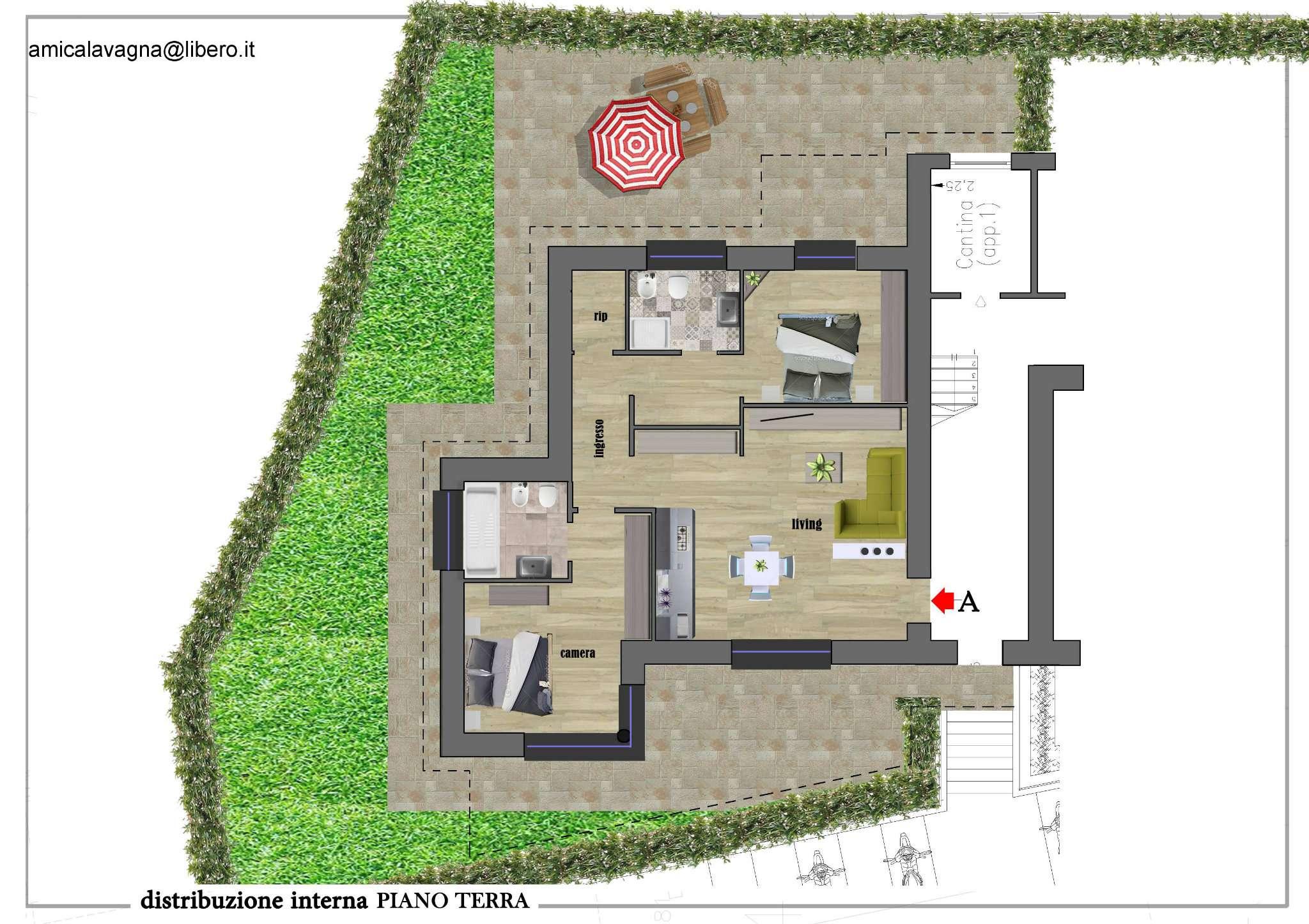 Appartamento in vendita a Casarza Ligure, 5 locali, Trattative riservate | CambioCasa.it