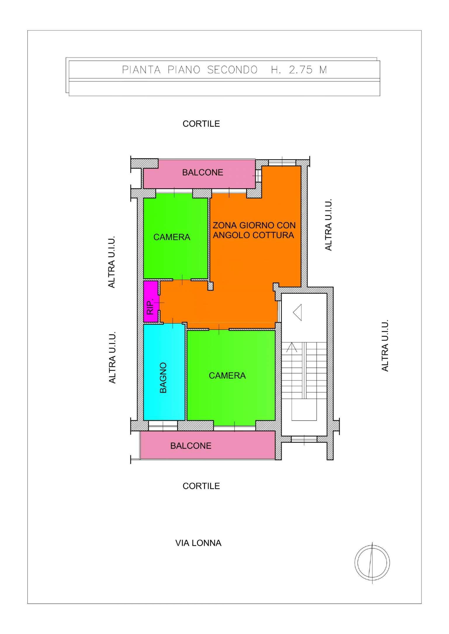 Appartamento in vendita a Leini, 3 locali, prezzo € 95.000   CambioCasa.it