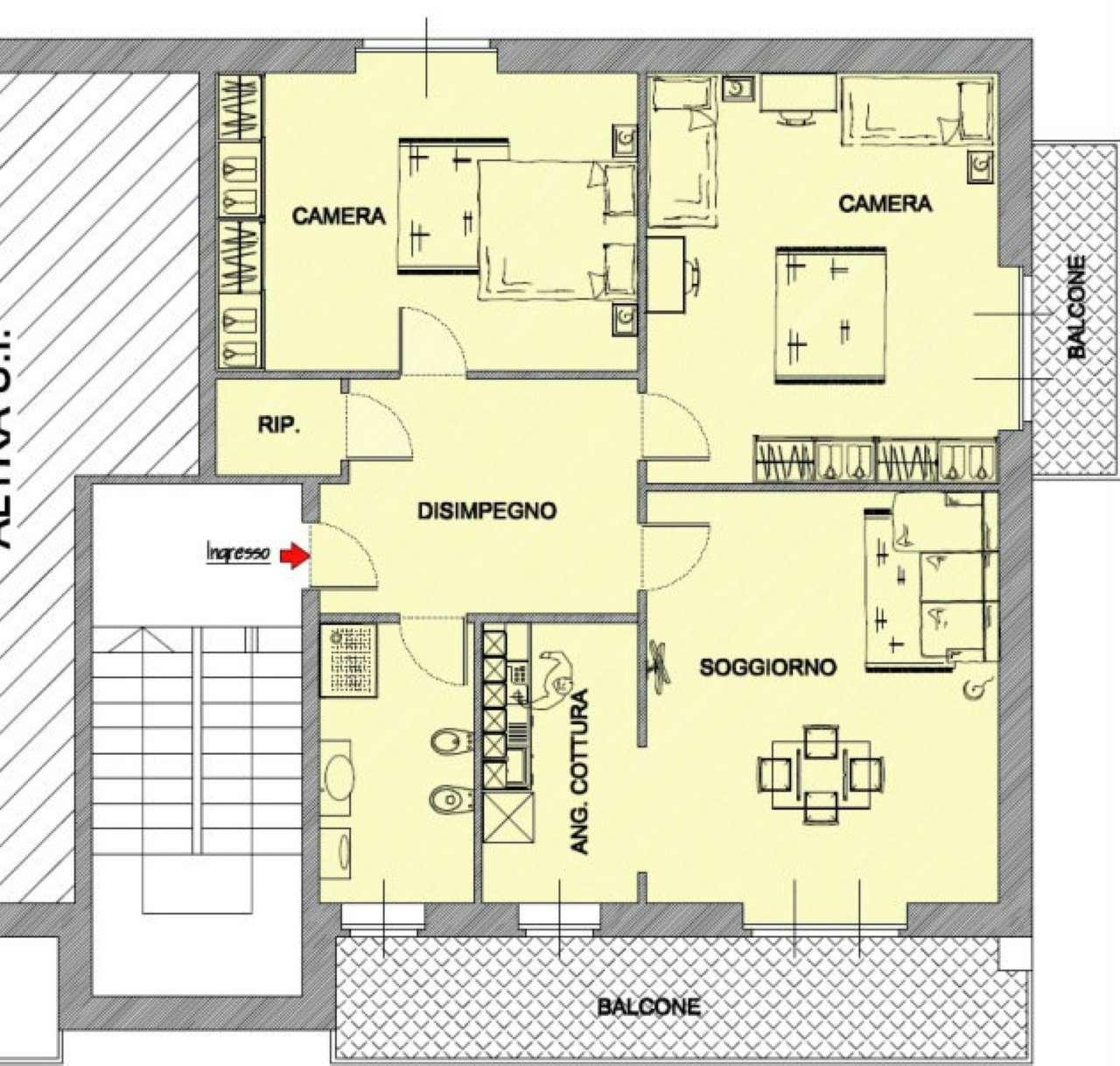 Appartamento in vendita Rif. 6407567