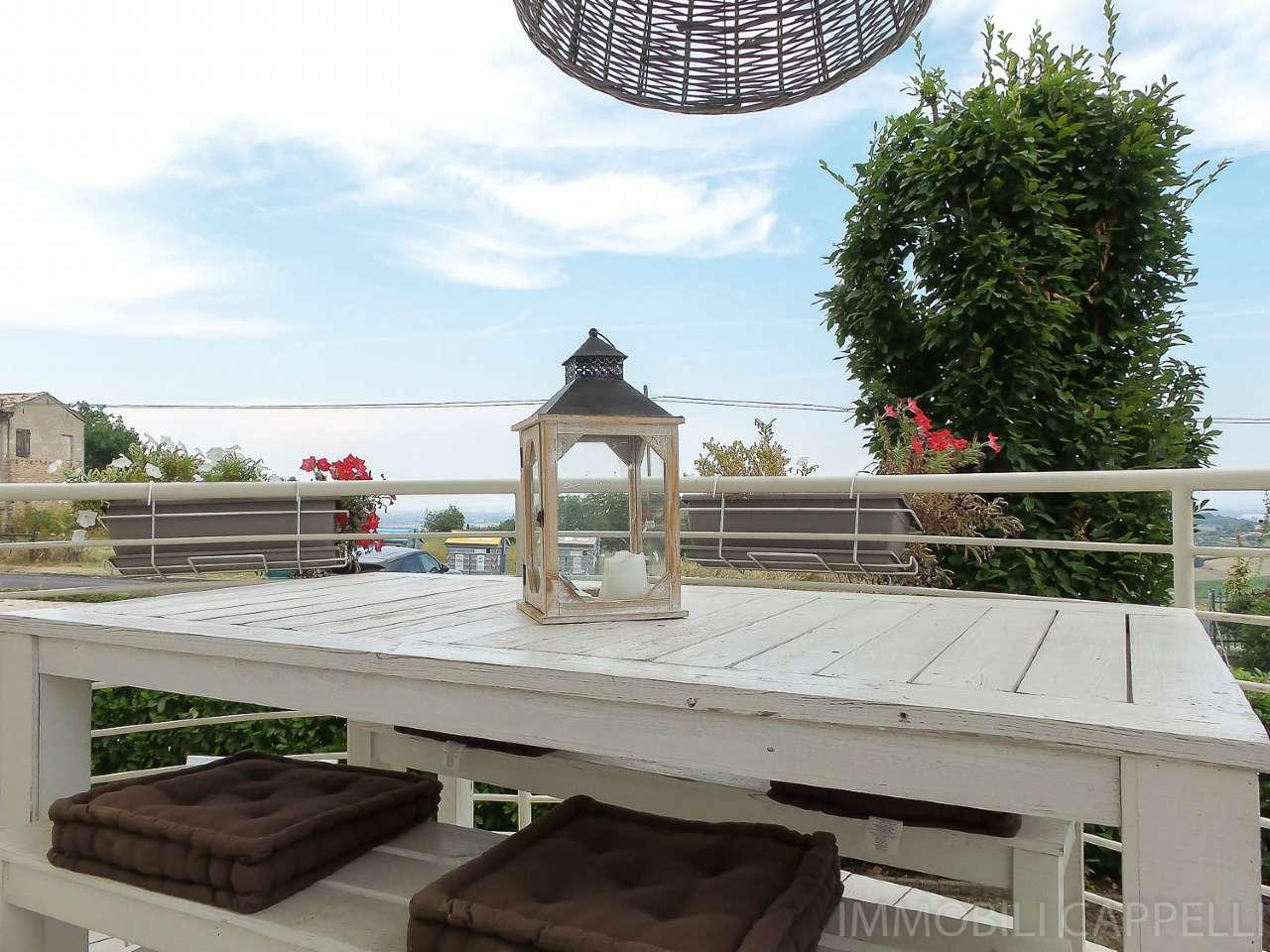 Bertinoro appartamento con giardino in vendita