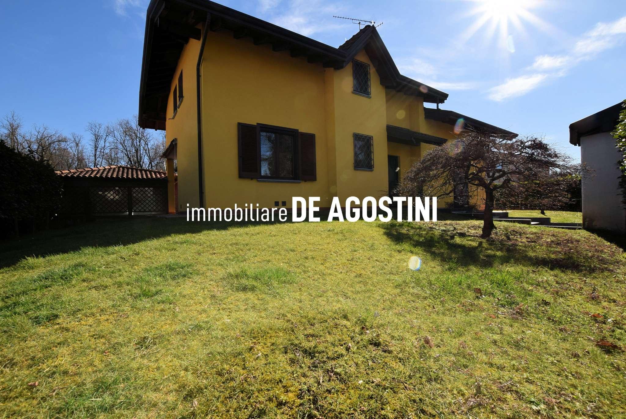 Villa in affitto a Castelletto Sopra Ticino, 8 locali, prezzo € 1.300 | CambioCasa.it