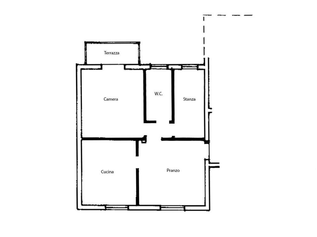Appartamento in buone condizioni in vendita Rif. 8718332