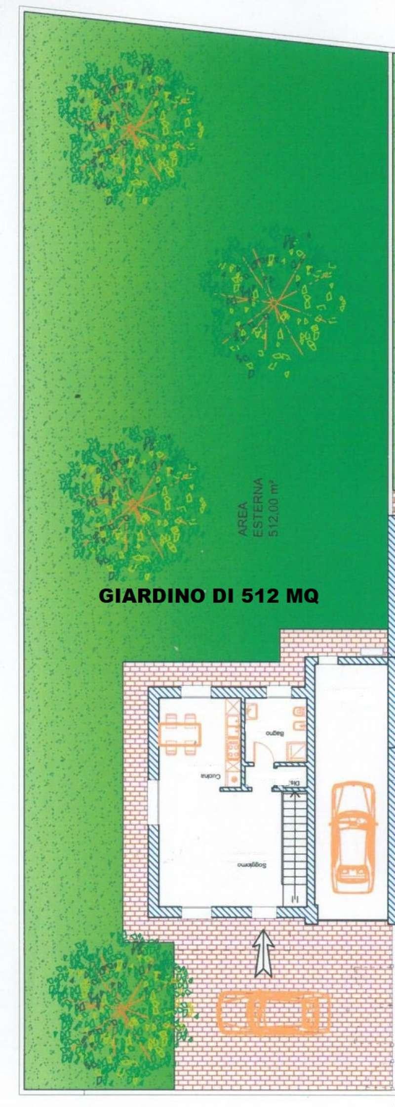 Villa in vendita a Romano di Lombardia, 4 locali, prezzo € 310.000   CambioCasa.it