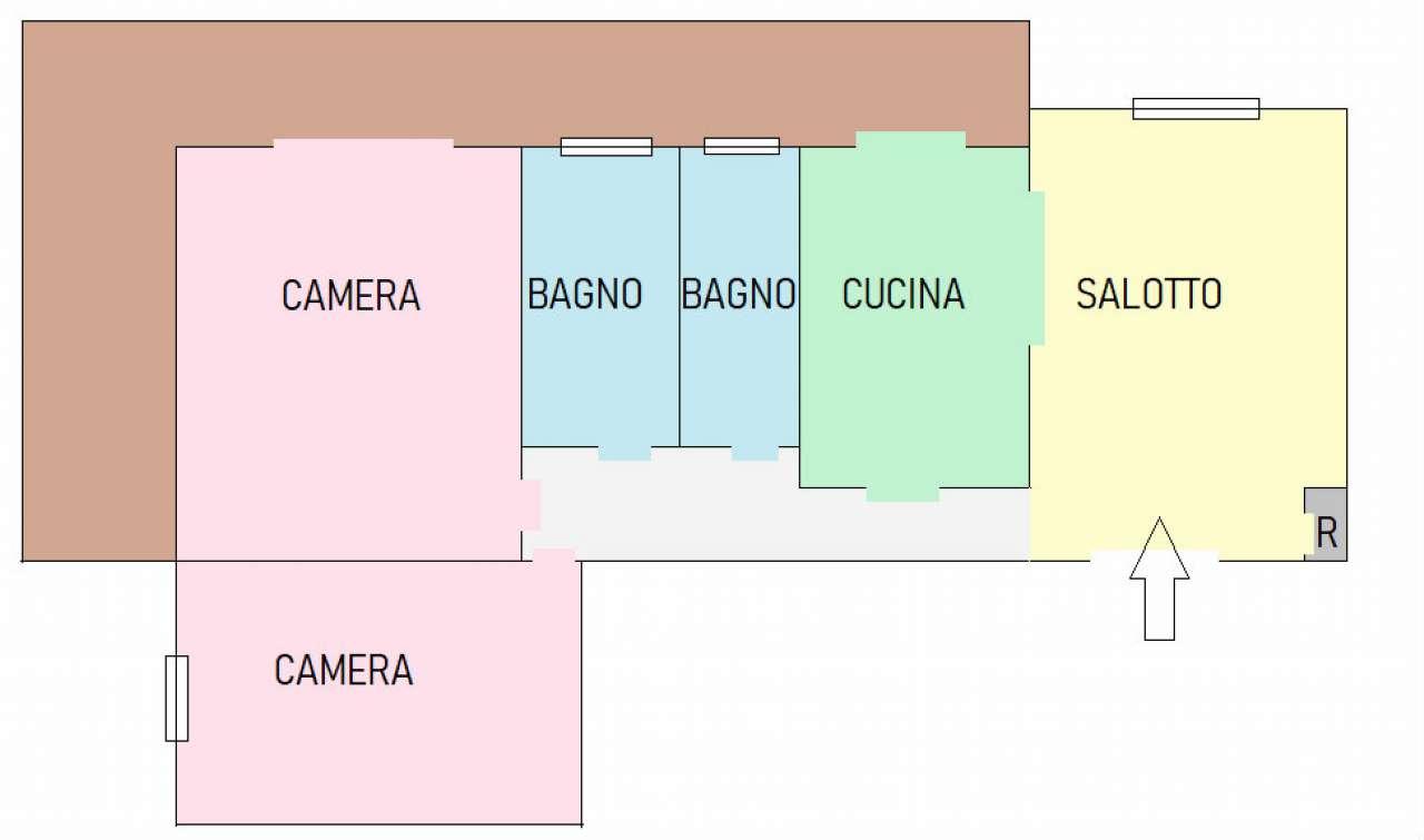 Appartamento in affitto a Cava de' Tirreni, 3 locali, prezzo € 700 | CambioCasa.it