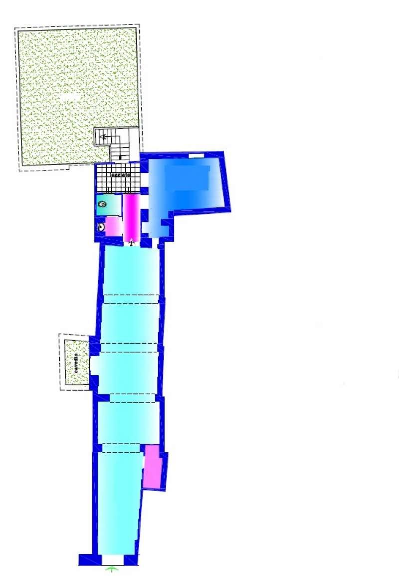 Locale commerciale con terrazzo Rif. 8341112