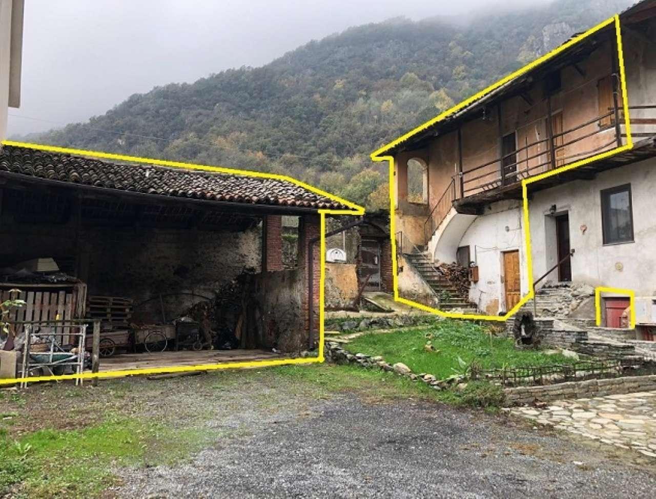Rustico / Casale in vendita a Sant'Ambrogio di Torino, 4 locali, prezzo € 25.000 | CambioCasa.it
