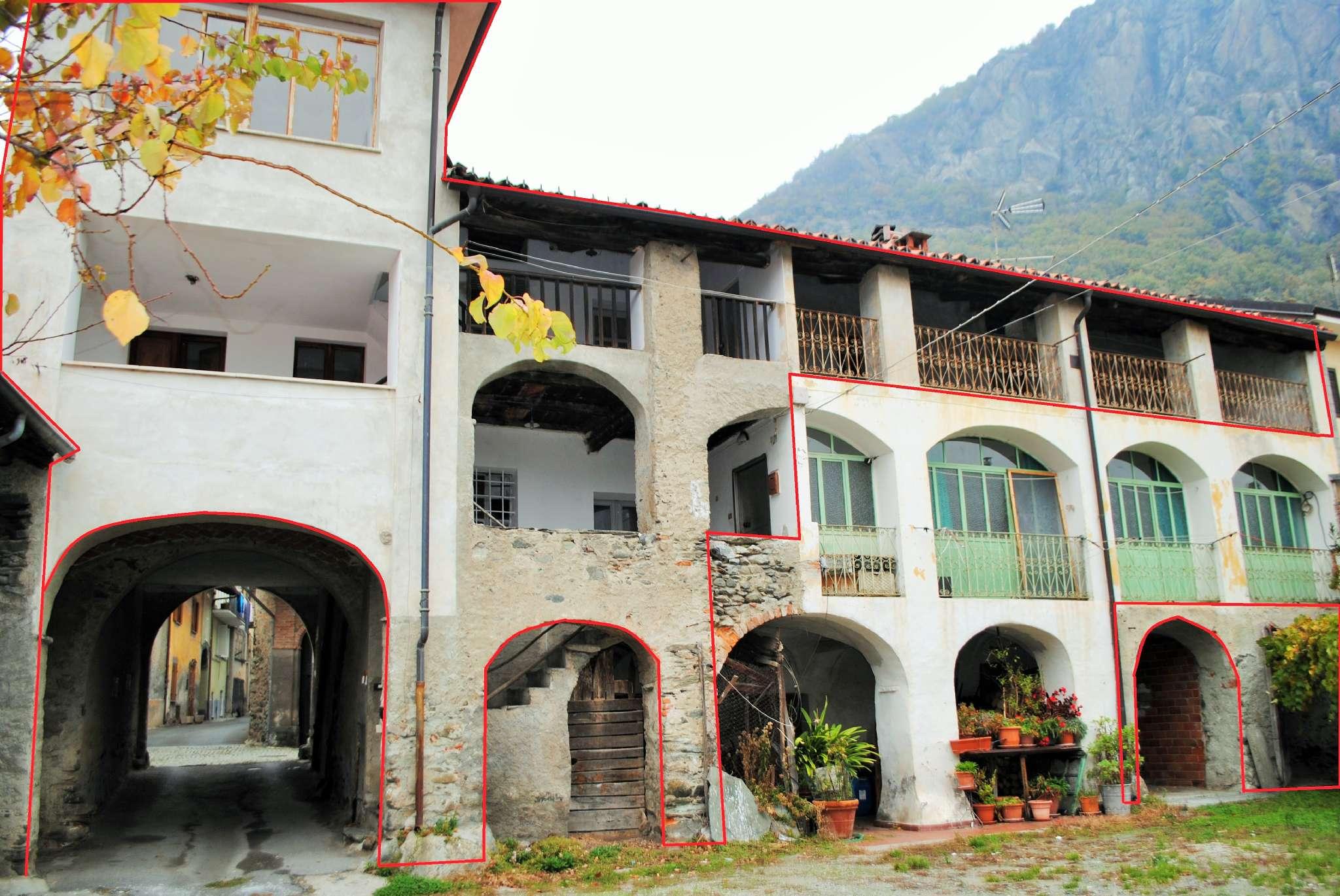 Rustico / Casale in vendita a Caprie, 9 locali, prezzo € 65.000   PortaleAgenzieImmobiliari.it