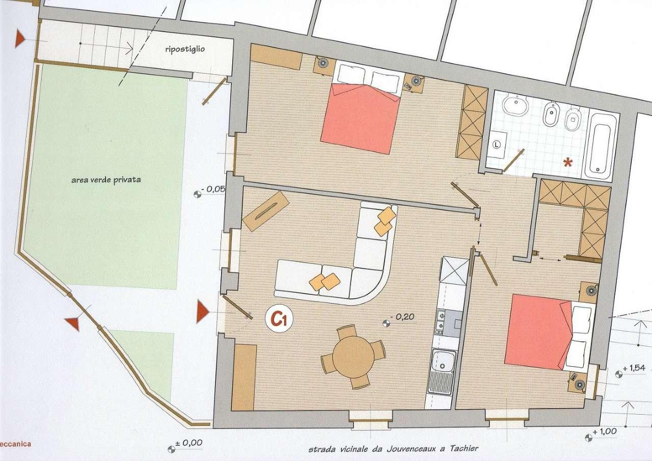 Palazzo / Stabile in Vendita a Sauze d'Oulx