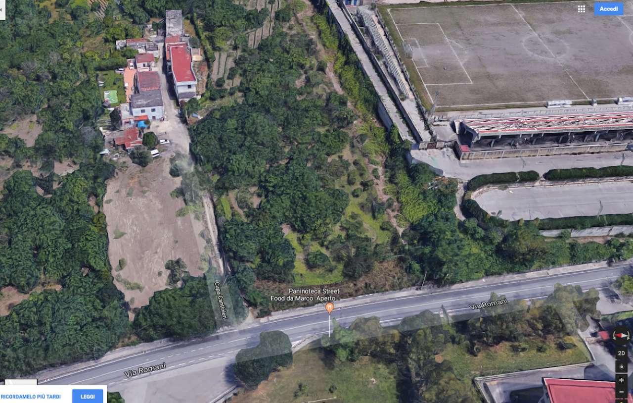 Via Romani Pomigliano D Arco terreno agricolo in vendita a sant'anastasia