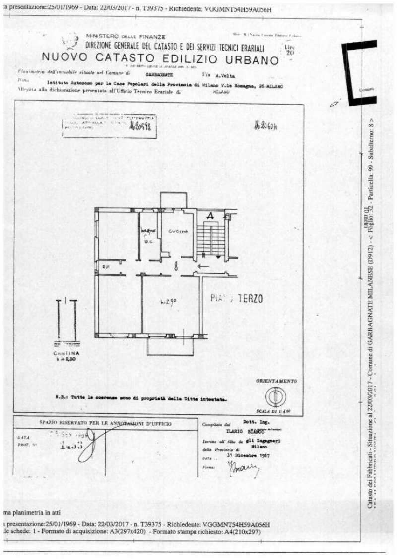 Appartamento da ristrutturare in vendita Rif. 7860693