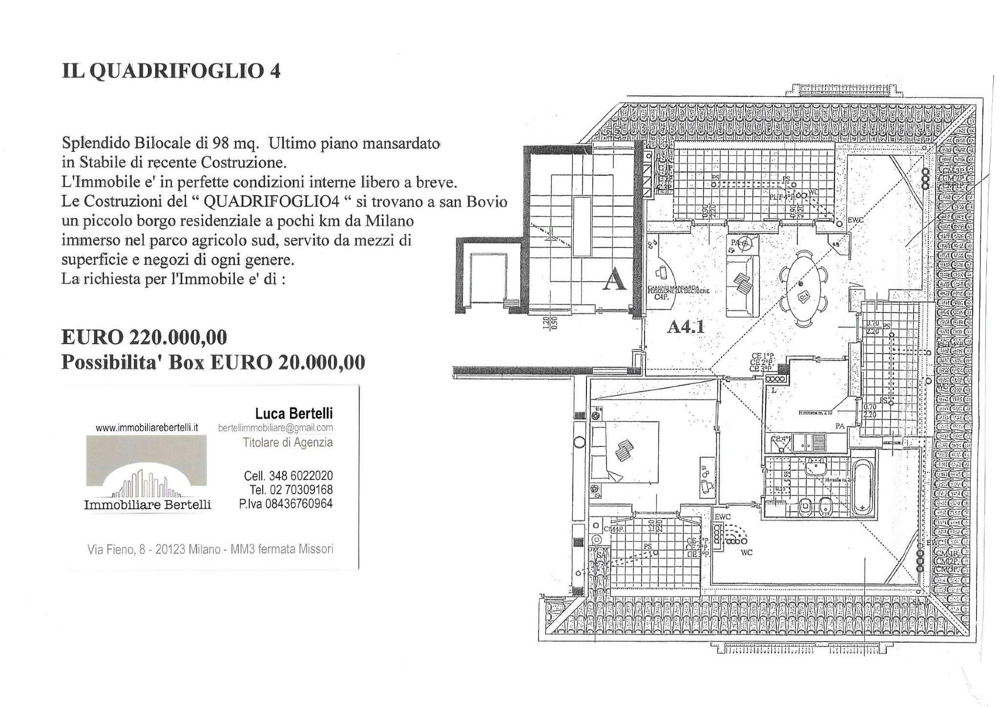 Appartamento in vendita a Peschiera Borromeo, 2 locali, prezzo € 220.000 | PortaleAgenzieImmobiliari.it
