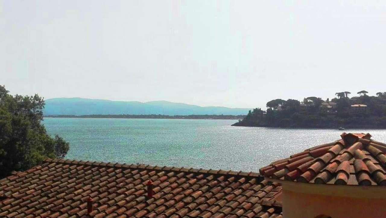 Porto Santo Stefano villetta indipendente con giardino ed eccezionale  vista mare