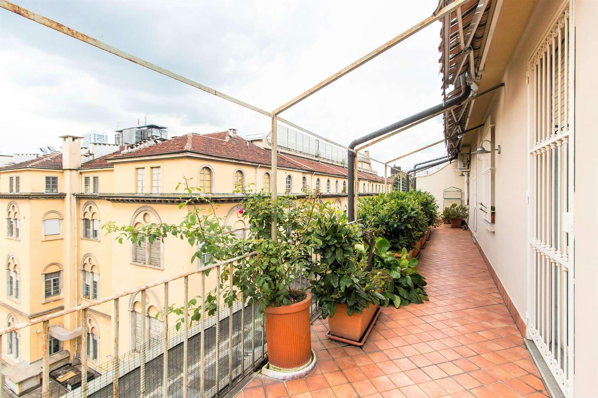 Attico / Mansarda in vendita a Torino, 8 locali, zona Centro, Quadrilatero Romano, Repubblica, Giardini Reali, prezzo € 595.000   PortaleAgenzieImmobiliari.it