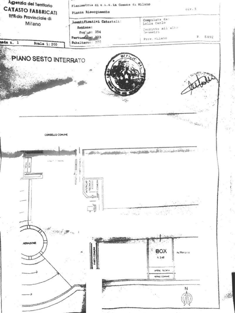 Box garage milano vendita zona 4 buenos aires - Immobile non soggetto all obbligo di certificazione energetica ...