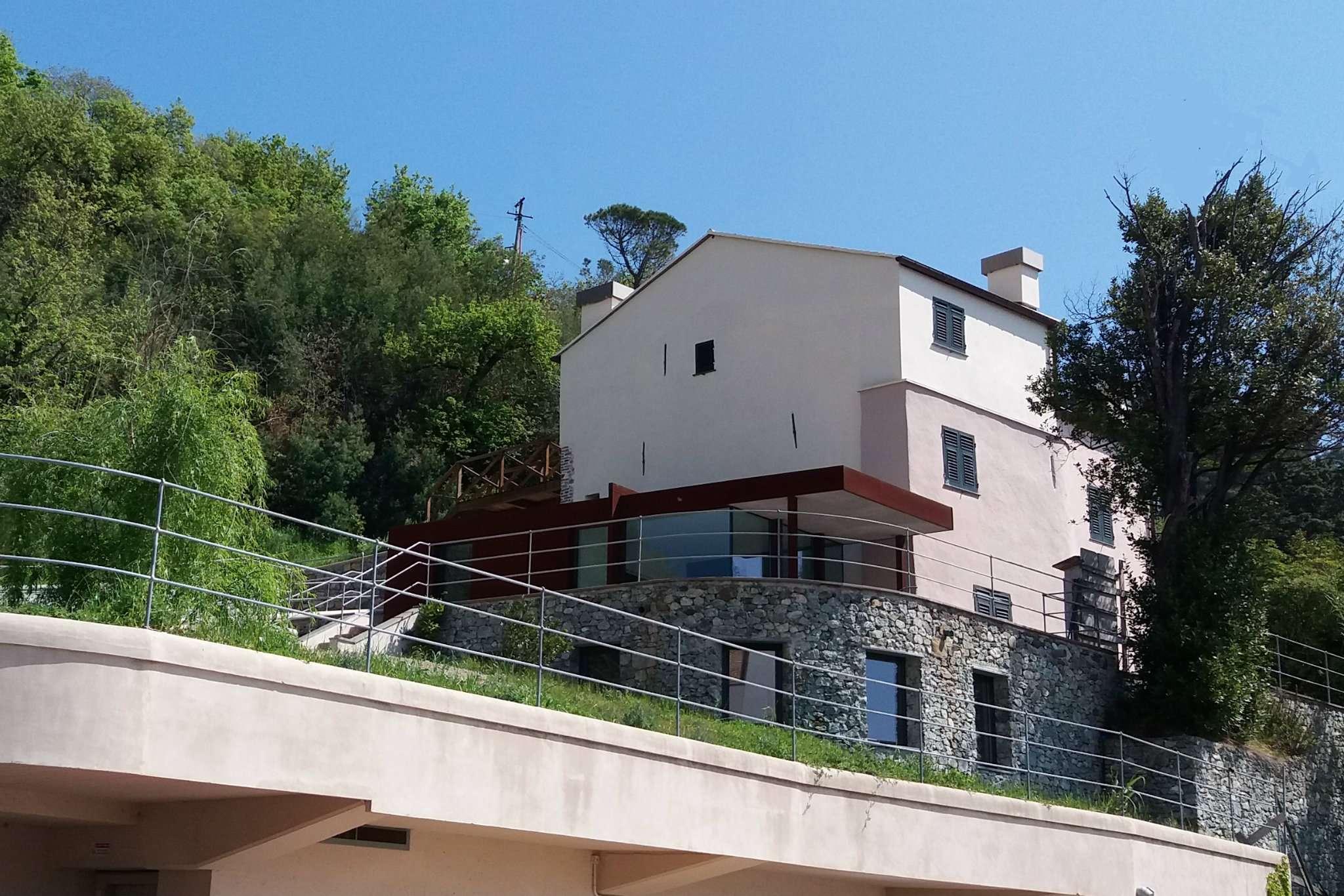 Villa bifamiliare con giardino a genova - Vendita villa con piscina genova ...