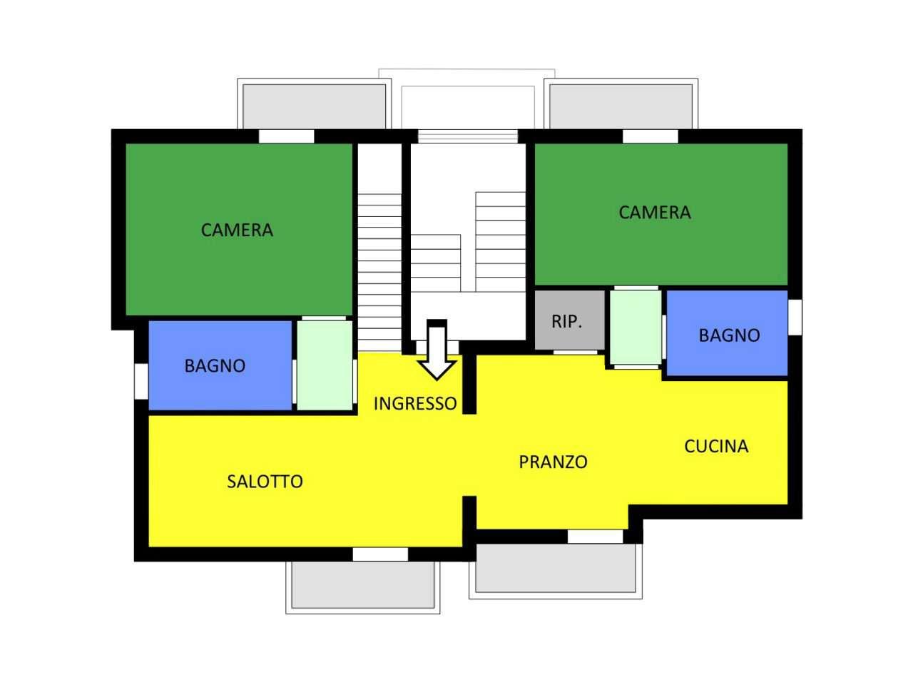 Appartamento in vendita Rif. 8523422
