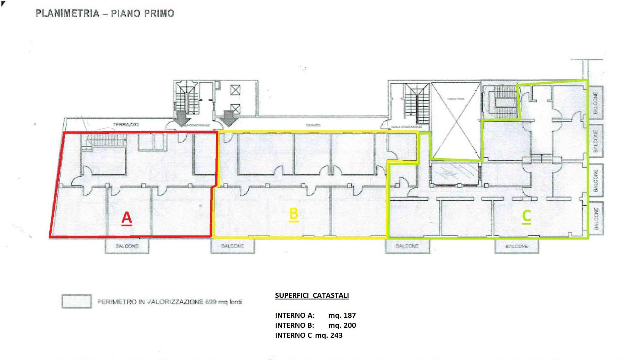 Ufficio / Studio in affitto a Crema, 15 locali, prezzo € 100 | CambioCasa.it