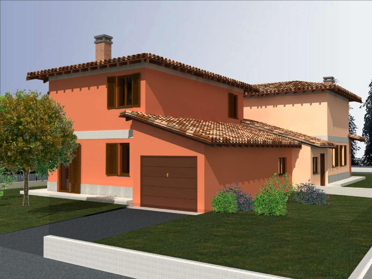 Villa Bifamiliare in vendita a Crema, 5 locali, prezzo € 245.000   CambioCasa.it