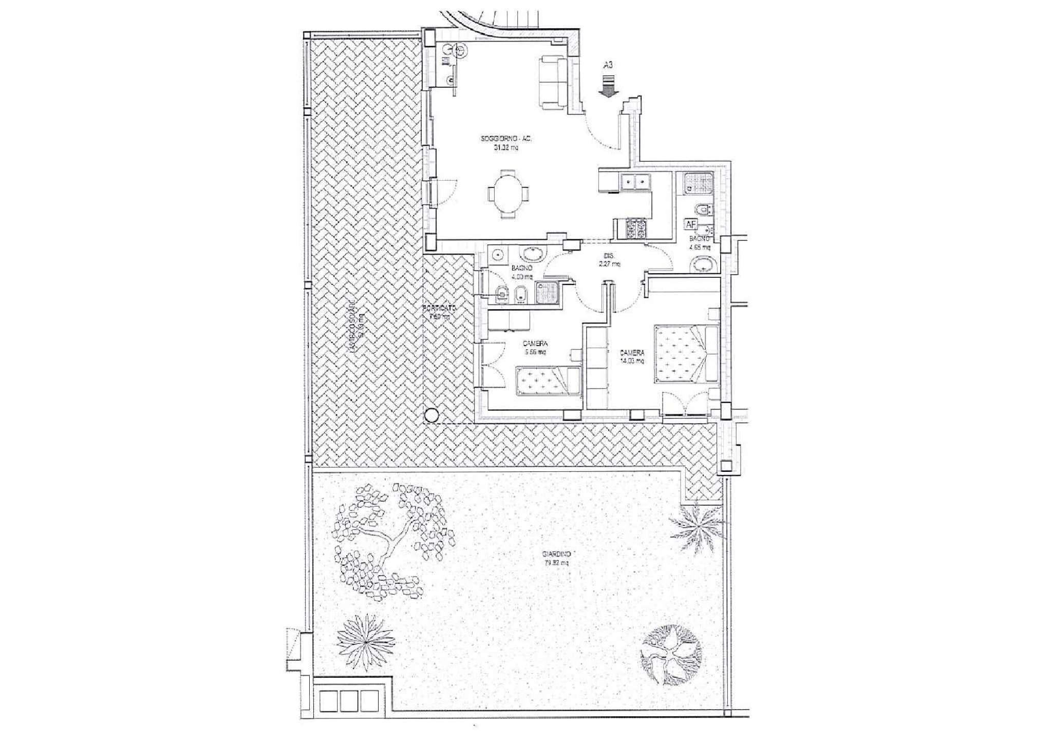 Appartamento in vendita a Ciampino, 3 locali, prezzo € 203.000   PortaleAgenzieImmobiliari.it