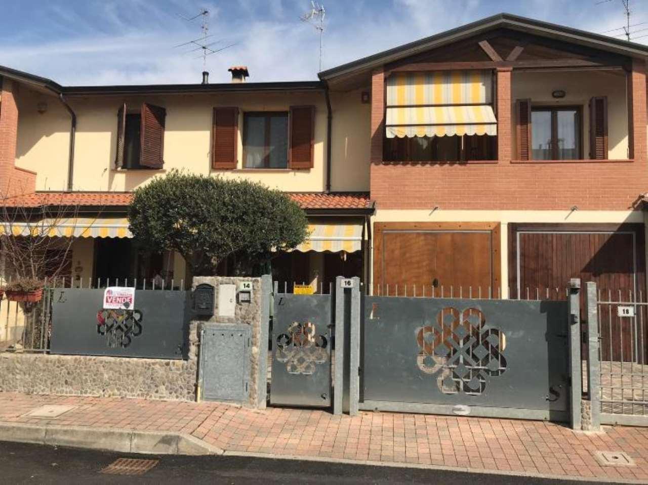 Villa a Schiera in vendita a Gerre de' Caprioli, 4 locali, prezzo € 165.000 | CambioCasa.it