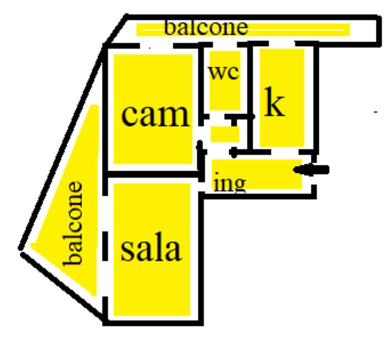 Appartamento in vendita a Sesto San Giovanni, 2 locali, prezzo € 104.800   PortaleAgenzieImmobiliari.it