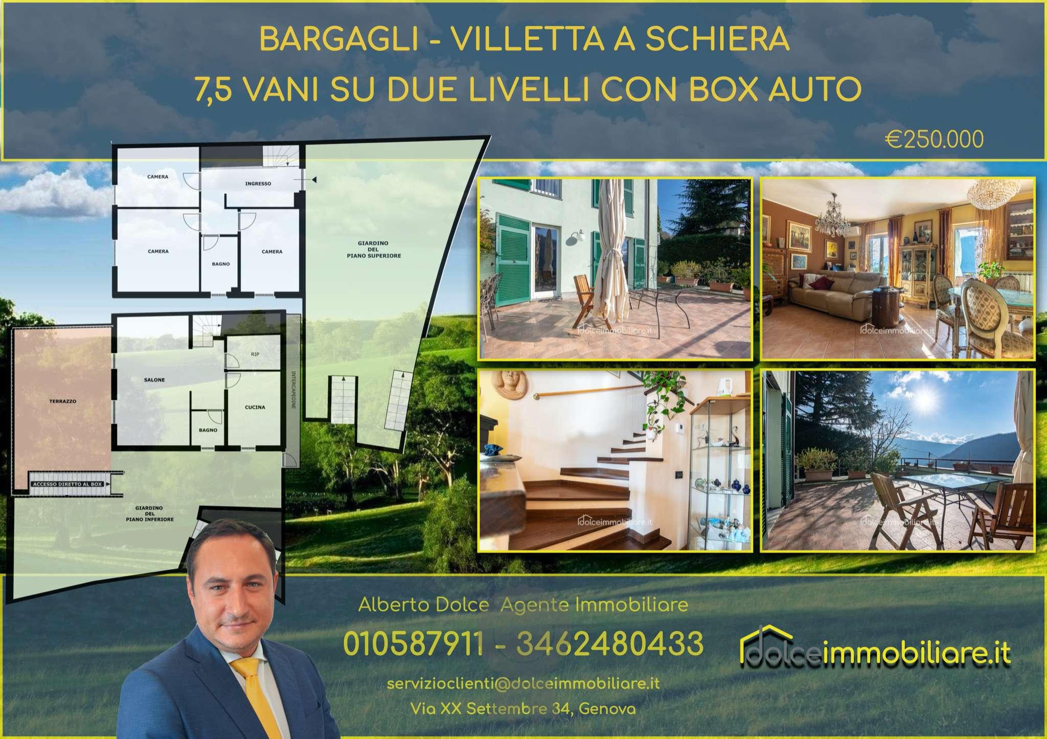 Soluzione Indipendente in vendita a Bargagli, 5 locali, prezzo € 250.000 | PortaleAgenzieImmobiliari.it