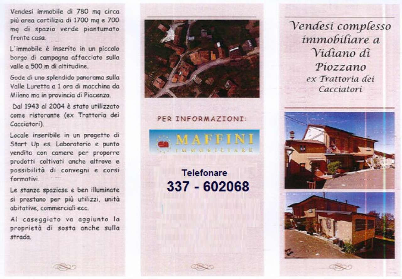 Soluzione Indipendente in vendita a Piozzano, 20 locali, prezzo € 249.000 | CambioCasa.it
