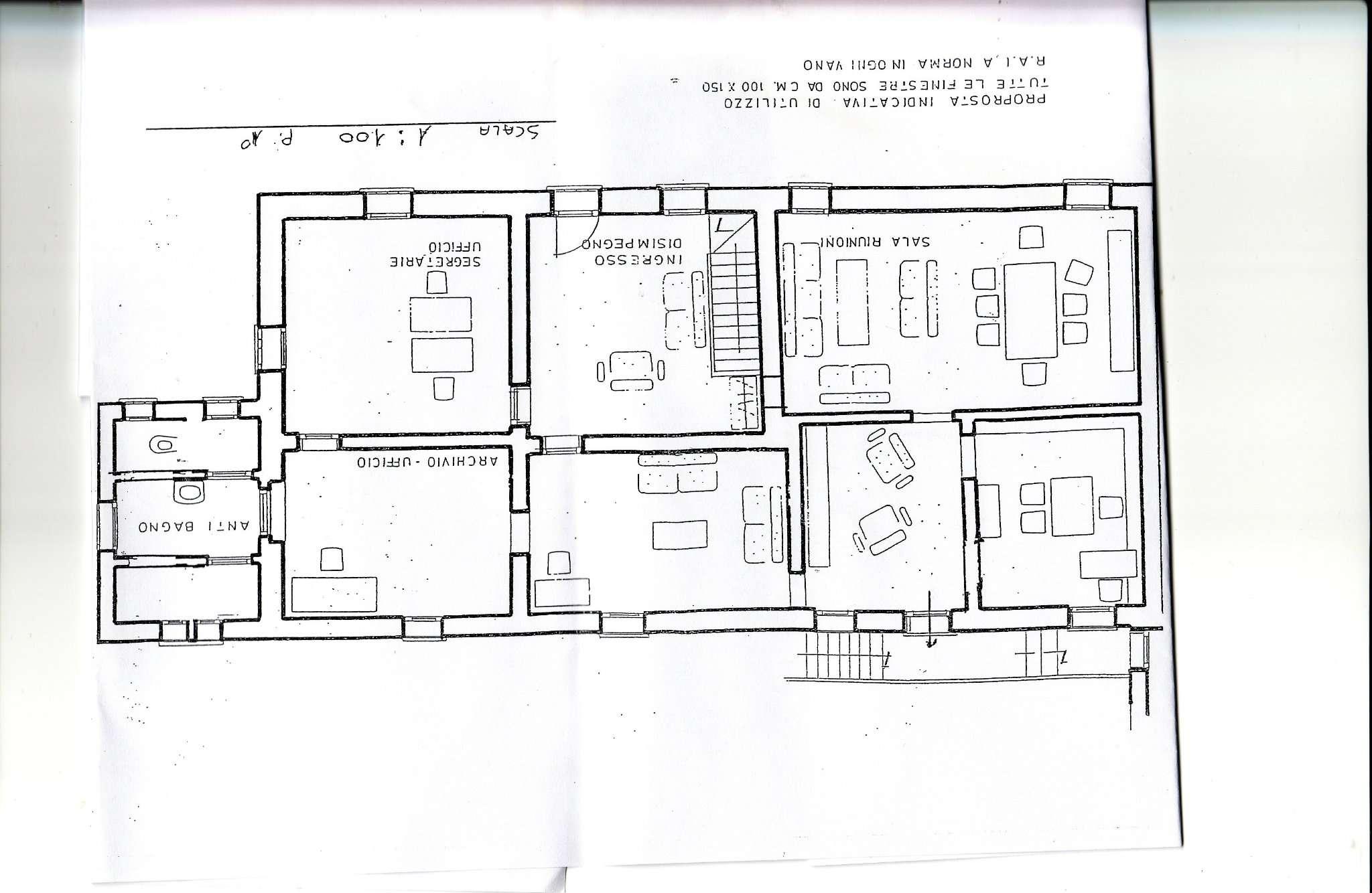 Ufficio / Studio in affitto a Pavia, 6 locali, prezzo € 1.250 | CambioCasa.it