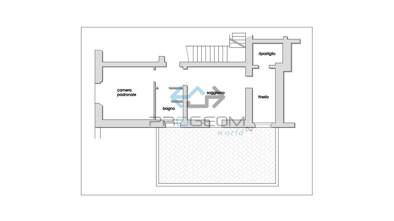 Appartamento in vendita a Casciana Terme Lari, 3 locali, prezzo € 50.000   PortaleAgenzieImmobiliari.it