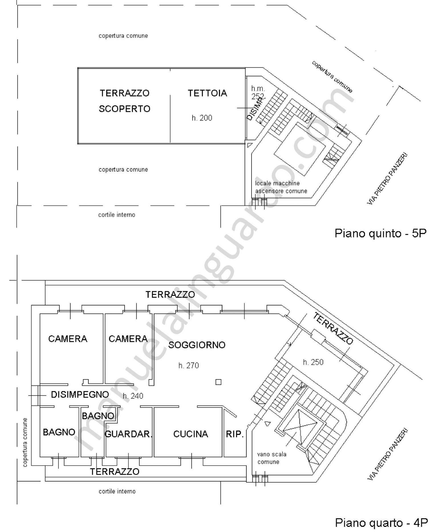 Planimetria appartamentoVia Conca Del Naviglio 20123