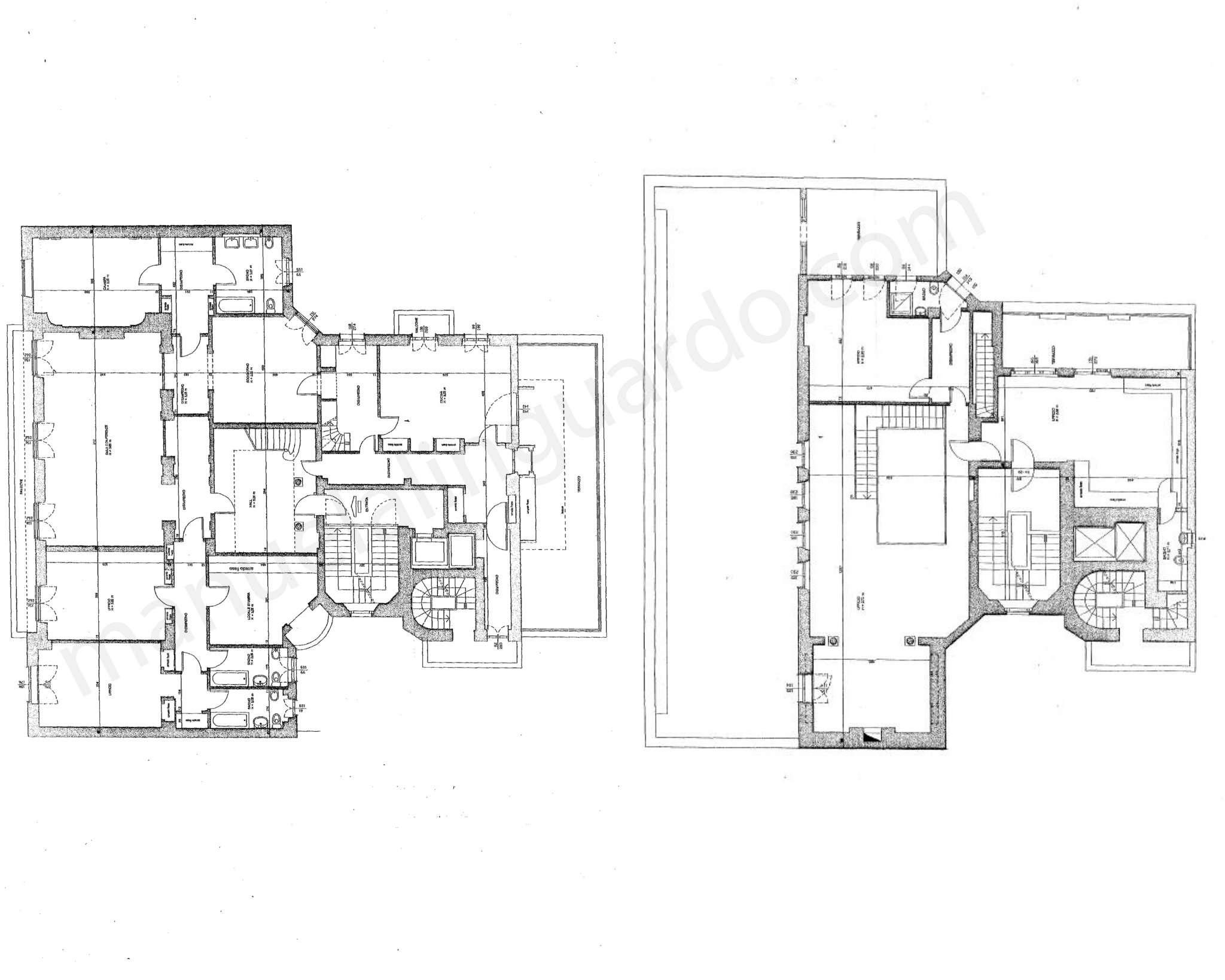 Planimetria appartamentoPiazza Repubblica 20124