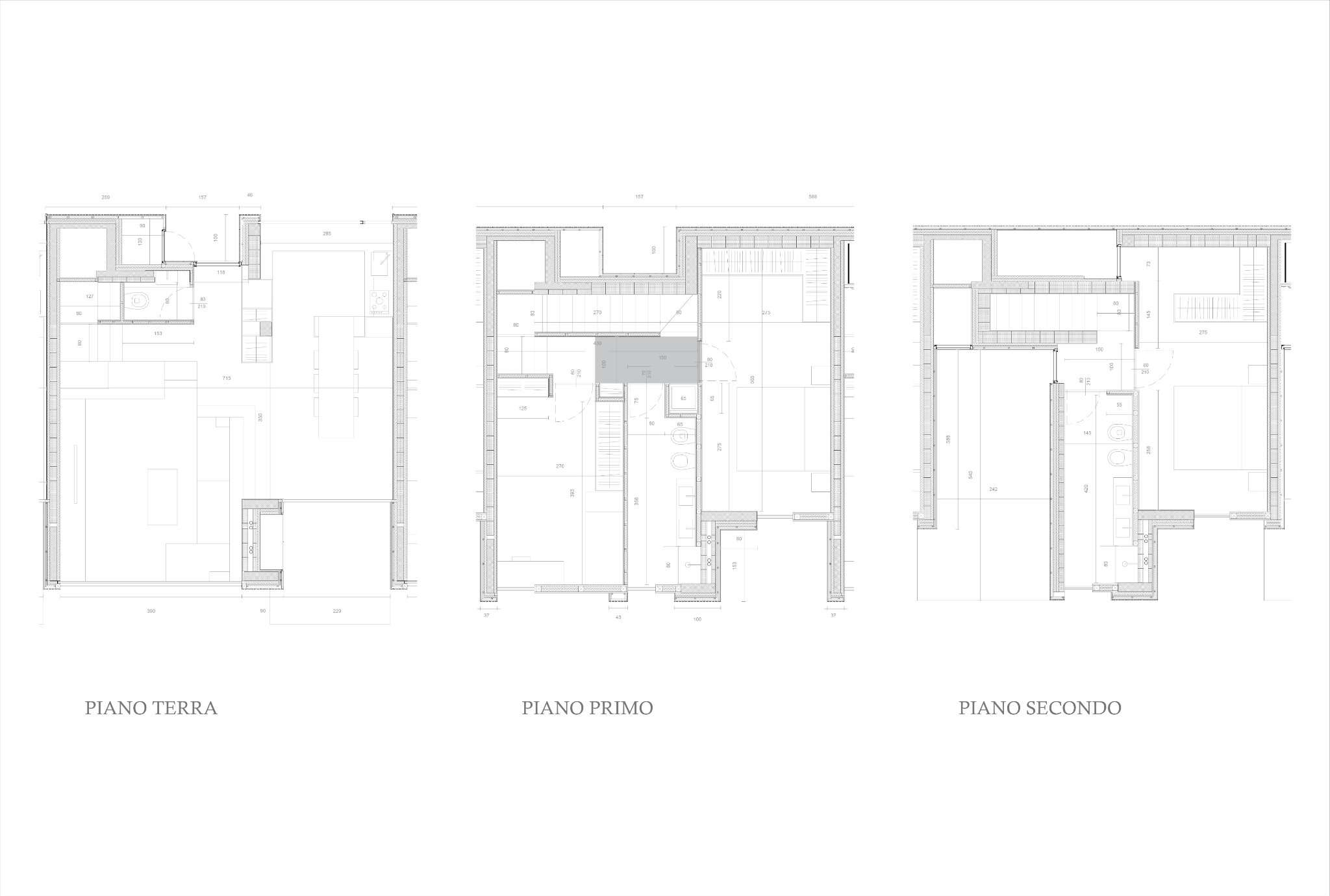Planimetria appartamentoVia Trasimeno 20128