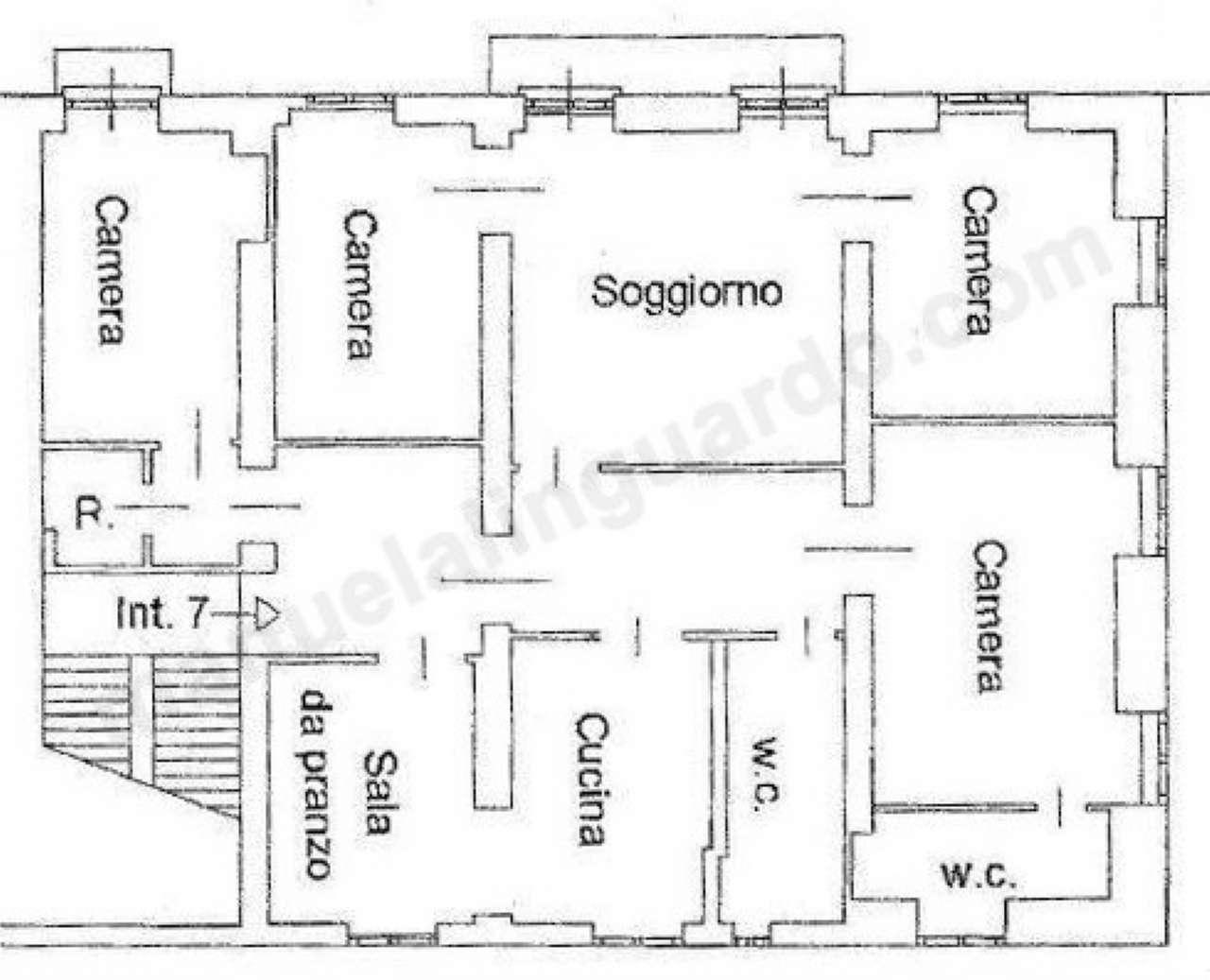 Planimetria appartamentoVia Bozzo 16032